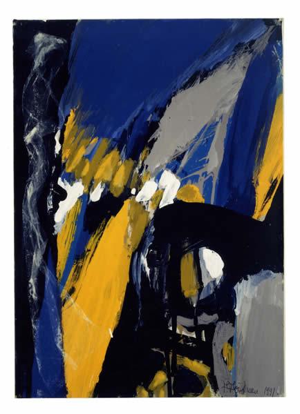 Galerie de peintures abstraites de paule pointreau for Artiste art abstrait